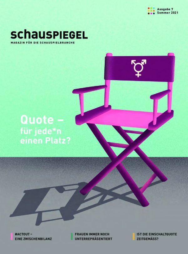 thumbnail of Schauspiegel Ausgabe 7 Sommer 2021